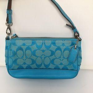 Coach Baguette 6094 Blur signature bag